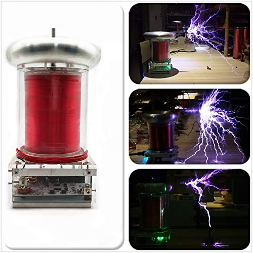Joytech Music Tesla Coil Arc Plasma Loudspeaker Wireless Transmission Experiment Desktop Toy Model SSTC WH15