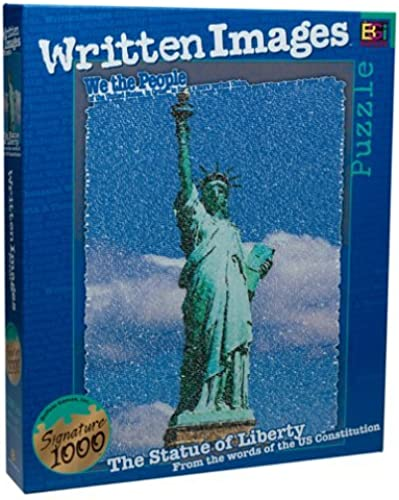 Buffalo Games Statue of Liberty Puzzle Puzzle by written images