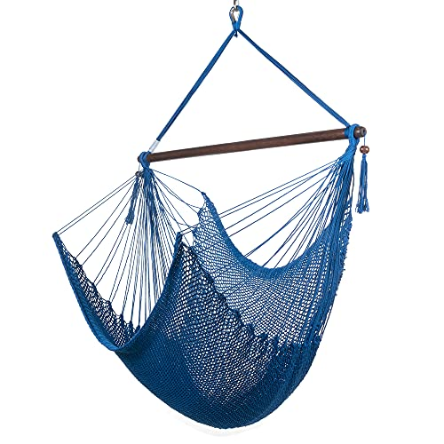 Caribbean hammocks large chair - 48 inch - polyester - hanging chair -...