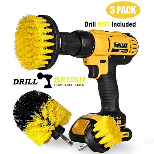 Drill Brush, Swonuk 3pcs bohrmaschine bürstenaufsatz 2