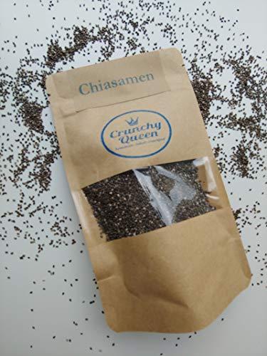 Crunchy Queen Chiasamen Topping vegan & palmölfrei (100g)