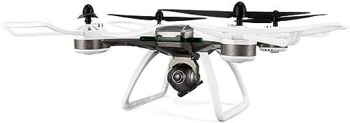 Igemy GPS Quadcopter 6-Axes Drohne mit 720P   1080P Weißwinkel Wifi Kamera (Schwarz 720P)