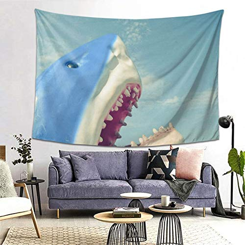 Shark Tapestry Art Tapestry Handicraft Party Decoration Banner Garland Event Banner and Home Decoration