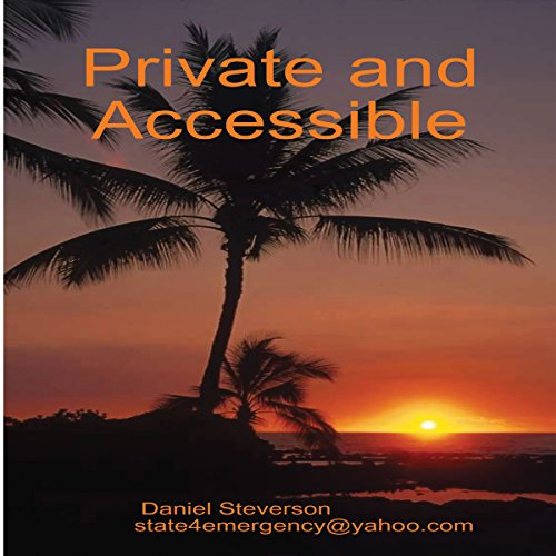 Private and Accessible audiobook cover art