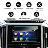 YEE PIN Car Navigation Tempered Glass Screen Protector for 2019 Subaru Forester SK Starlink Center Control Touch Screen, HD Shock Resistant Scratch Resistance Protective Film (6.5-inch)