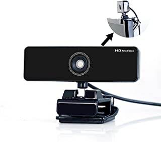 1080P HD Online Teaching Live Streaming Webcam With Mic, Extra Long 9.8 Ft USB Cable PC Video Web Camera Cam With Flexible...