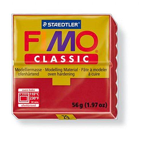 Staedtler (UK) Ltd Eberhard Faber Pâte à modeler Fimo Classic 56 g carmin
