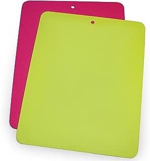 Linden Sweden Daloplast Bendy Lime and Pink Flexible Cutting Board, Set of 2