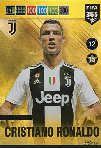 PANINI ADRENALYN XL FIFA 365 2019 – Cristiano Ronaldo Top Master seltene Karte – #9