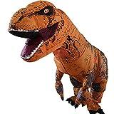 Disfraz hinchable con diseño de tiranosaurio rex, ideal para cosplay