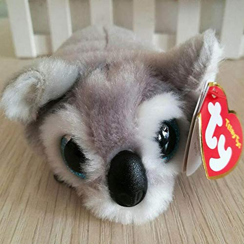 CGDX TY Beanie Boo Teeny Tys Plush - Icy The Seal 9 cm Ty Beanie Boos Big Eyes Peluche Muñeca de Juguete Panda púrpura Bebé Niños Regalo Mini Juguetes 9 0-10cm
