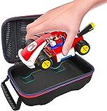 knowledgi Accesorios para fundas protectoras compatibles con Mario Kart Live: circuito doméstico, funda de viaje rígida portátil para Switch Mario Kart. Bolsa impermeable y de compresión