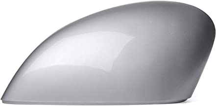 Silver Side Wing Door Rearview Mirror Cover For Ford for Fiesta MK7 2008 2009 2010 2011 2012 2013 2014 2015 2016 2017