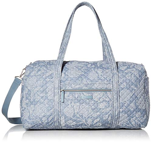 Vera Bradley Women's Large Duffel Travel Bag, Park Lace, One Size