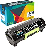 Do it Wiser Compatible Toner Cartridge Replacement for Lexmark 51B1H00 High Yield Lexmark MS417, MX417, MS517, MX517, MS617-8,500 Pages