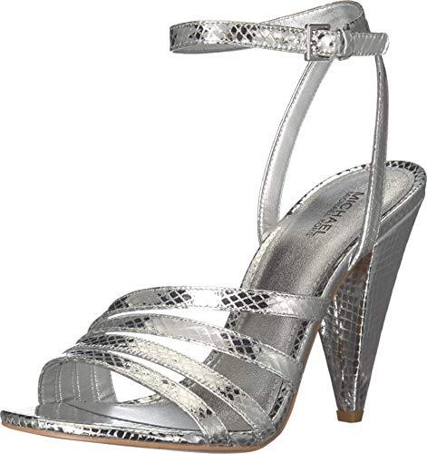 MICHAEL Michael Kors Kimmy Sandal Silver 7