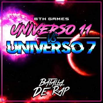 Universo 7 Vs Universo 11 (Macro Rap 19 Mc´s)