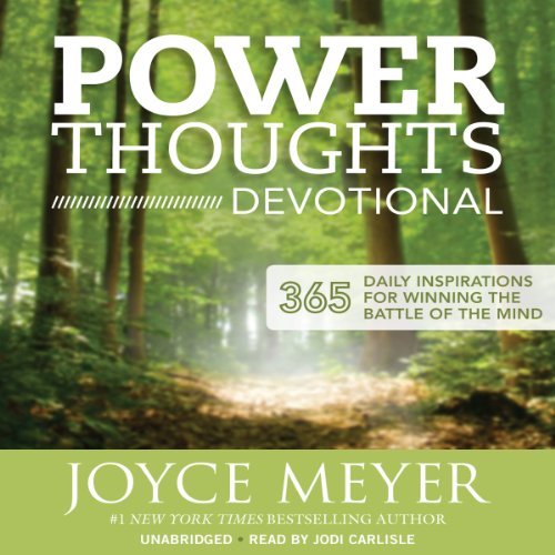 Power Thoughts Devotional audiobook cover art