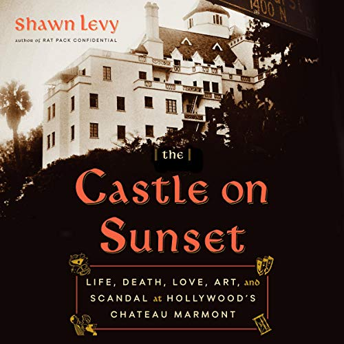 The Castle on Sunset audiobook cover art
