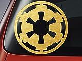 Adhesivo decorativo con diseño del logo del Imperio de Star Wars