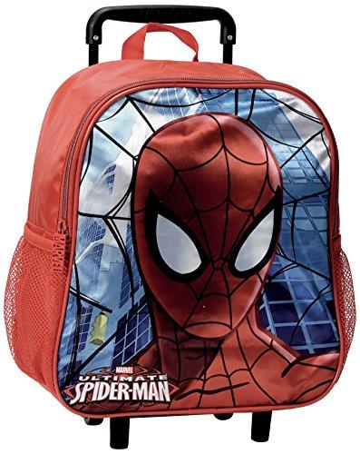 Spider Man Signs Zainetto per Bambini, 3 cm, Multicolore