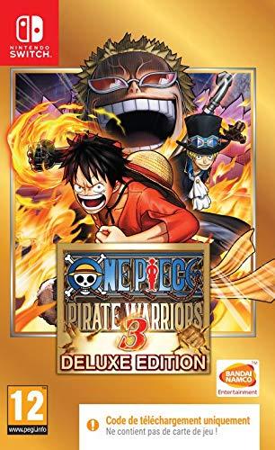 One Piece Pirate Warriors 3 (Code de téléchargement pour Switch dans la boîte - pas de disque)
