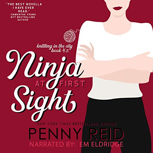 Ninja at First Sight: An Origin Story (Knitting in the City) Titelbild