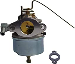 Dosens 631918 Carburetor Replacement for Tecumseh Carb HS40 4HP HS50 5HP Engine Lawn Mower with Gasket