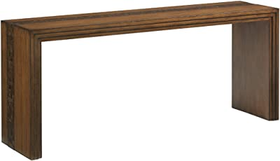 Amazon Com Tommy Bahama Island Fusion Turtle Island Wood Console Table In Brown Furniture Decor