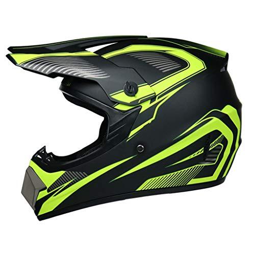 Helmet Motocross Helmet Offroad Gear Combo Mask Goggles Gloves,Retro Stars ATV Motorcycle Helmet SUV Dirt Bike Mountain Bike Helmet DOT Approved