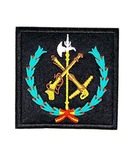 Gemelolandia Parche Termoadhesivo Legión española 8,5x8,5cm