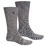 Timberland Boot Socks - 2-Pack, Crew (For Men) LARGE