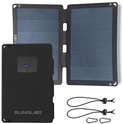 Sunslice Fusion Flex 12 - Panneau solaire port USB, 12W