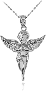 cherub angel necklace
