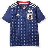 [アディダス] Kidsサッカー日本代表 ホームレプリカユニフォーム半袖 DRN90 ナイトブルー F13/ホワイト (BR3644) 日本 J160-(日本サイズ160 相当)