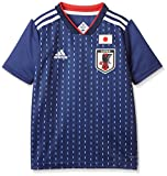 [アディダス] Kidsサッカー日本代表 ホームレプリカユニフォーム半袖 DRN90 ナイトブルー F13/ホワイト (BR3644) 日本 J140-(日本サイズ140 相当)