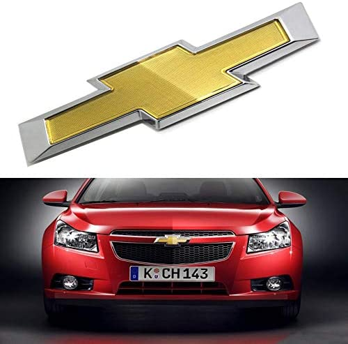 Bearfire Fit Chevrolet Cruze Front Emblem Grille Badge Bumper Sign Symbol Logo Fit Chevrolet 2011-2014 Accessories (Original)