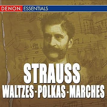 Great Strauss Waltzes, Polkas & Marches: Carl Michalski & The Viennese Folk Opera Orchestra