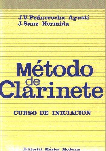 PEÑARROCHA y SANZ - Metodo de Clarinete (Curso de