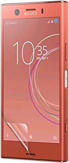 Celicious Vivid Invisible Glossy HD Screen Protector Film Compatible with Sony Xperia XZ1 Compact [Pack of 2]