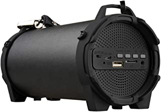 $135 » GFFG 8W Outdoor Sports Column Subwoofer Bluetooth Speaker Wireless 1500Mah Powerful Portable Speakers Radio FM Mp3 Player Scalable Memory Up to 32G,Black