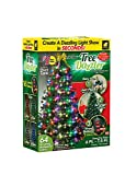 Star Shower Tree Dazzler LED Christmas Lights by BulbHead, Color Changing LED Light for The Christmas Tree, 64 Globe Lights