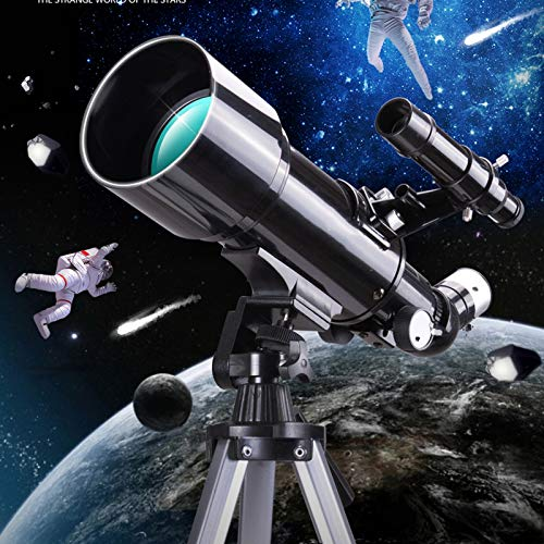 D&M National Geographic Telescope,Portable Travel Telescope for Adult with A Finder Scope,Low Light Night Vision Waterproof HD,with Backpack and Moon Filter