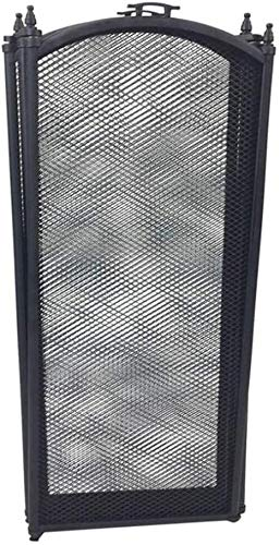 HIZLJJ Panel Spark Guardia, Plancha Pantalla del Panel Chimenea, Malla metálica de Seguridad contra Incendios Place Guard for Madera, Tamaño: 96cm (W) x 60 cm (H) (Size : 96cm (W) x 60cm (H))