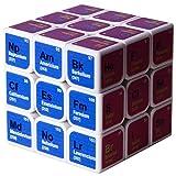 TYTOGE Magic Cube Fidget Toy, Cubo de Tercer Orden, Elementos químicos, Cubo de Tabla periódica, fórmula de Aprendizaje, Regalo de los Amantes para cumpleaños