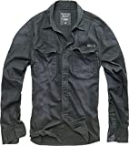 Brandit Hardee Camisa Denim Camiseta Hombre Camisa Vaquera - Negro, 5XL