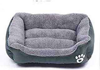 MHGStore Pet Dog Bed Warming Dog House Soft Material Nest Dog Baskets Fall and Winter Warm