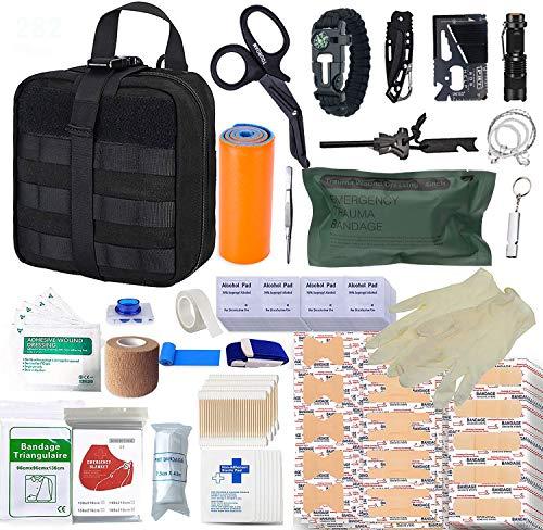 TOUROAM Kit de Primeros Auxilios de Supervivencia de 282