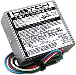 Hatch MC39-1-J-UNNUG3 - 39 Watt - 120/277 Volt - Electronic Metal Halide Ballast - ANSI M130 - Bottom Feed Mounting With Studs