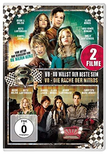 V8 - Du willst der Beste sein / V8 - Die Rache der Nitros [2 DVDs]